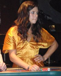 Danica Patrick at Ante up for Autism, Scottsdale Charity Poker Tounament and Casino Night