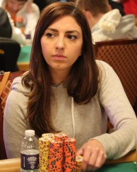 Kelly Minkin, Female Poker Player of the Year 2015 hosted Aces and Bases charity poker tournament