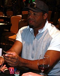 Ken Griffey Jr. at a charity poker tournament with the Dream Dealers  #CelebrityPokerEventScottsdale  #ArizonaLocalCharity  #SupportLocalAZCharity