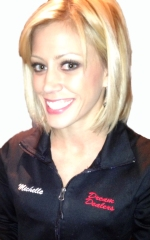 Dream Dealer Michelle knows poker and blackjack.  She has competed in many fitness competitions.