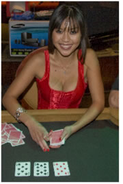 Scottsdale Charity Poker Tournament: Nikki Dealing